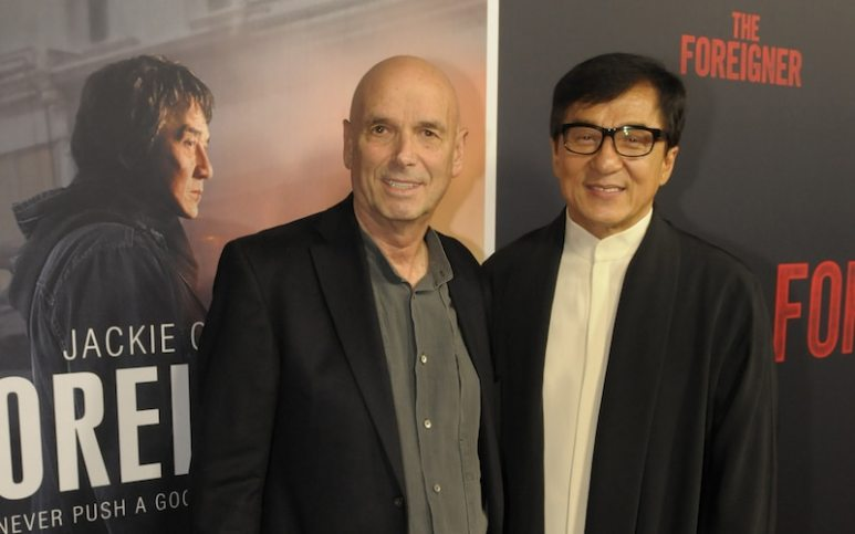 The Foreigner premiere