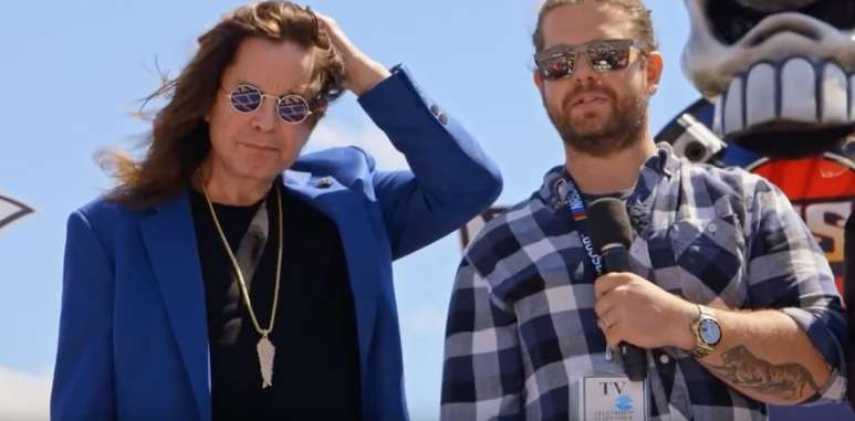 Ozzy and Jack's World Detour heads to NASCAR