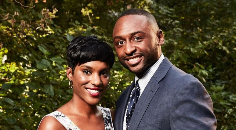 Sheila Downs and Nate Duhon from Married at First Sight