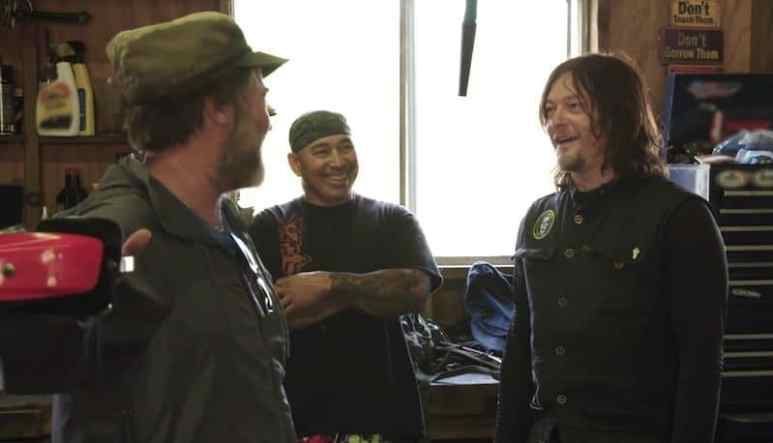 Norman Reedus in Hawaii on Ride with Norman Reedus