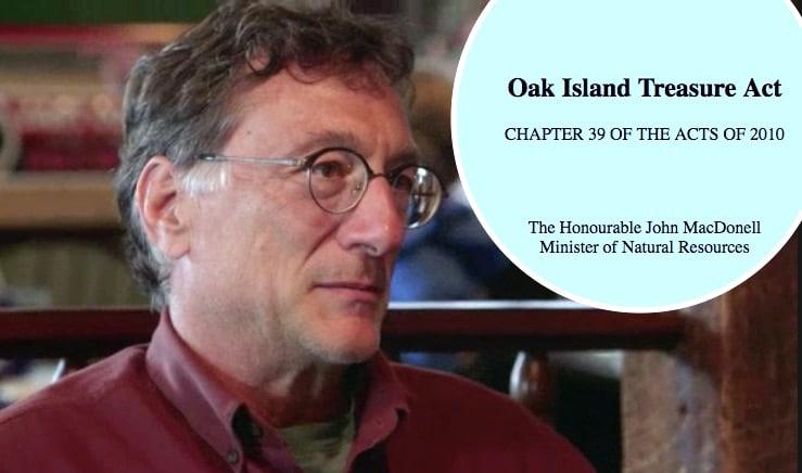 Marty Lagina and the Oak Island Treasure Act