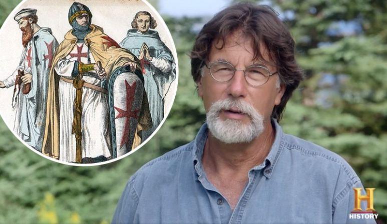 Rick Lagina on The Curse of Oak Island and historic artwork of the Knights Templar