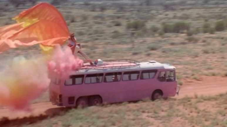 Pink bus from Pricilla Queen of the Desert