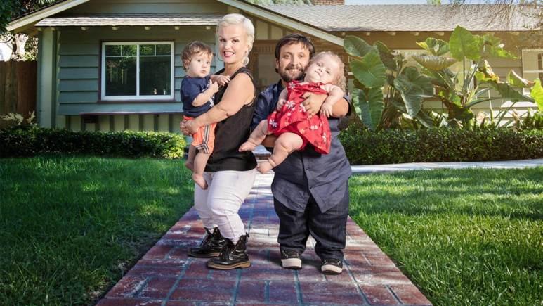 Terra Jole, Joe and their kids on Little Women: Terra's Big House