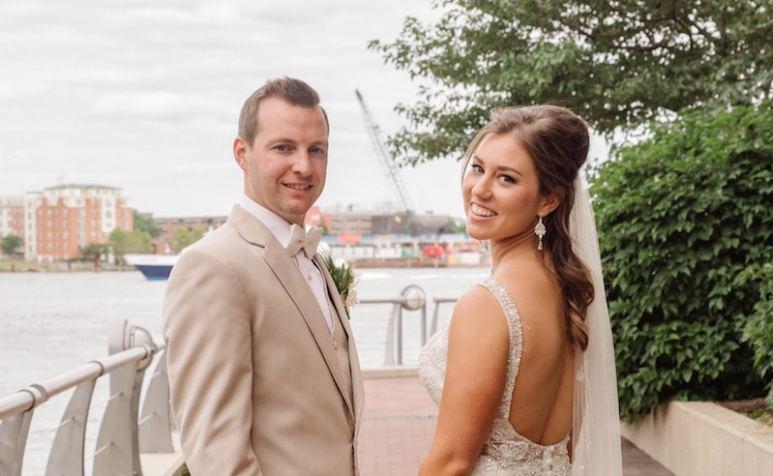 Jaclyn Schwartzberg and Ryan Buckley