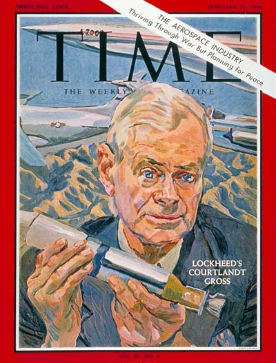Courtlandt Gross on Time Magazine Cover