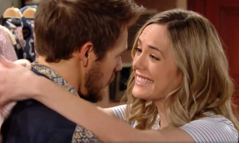 Hope and Liam on The Bold and the Beautiful
