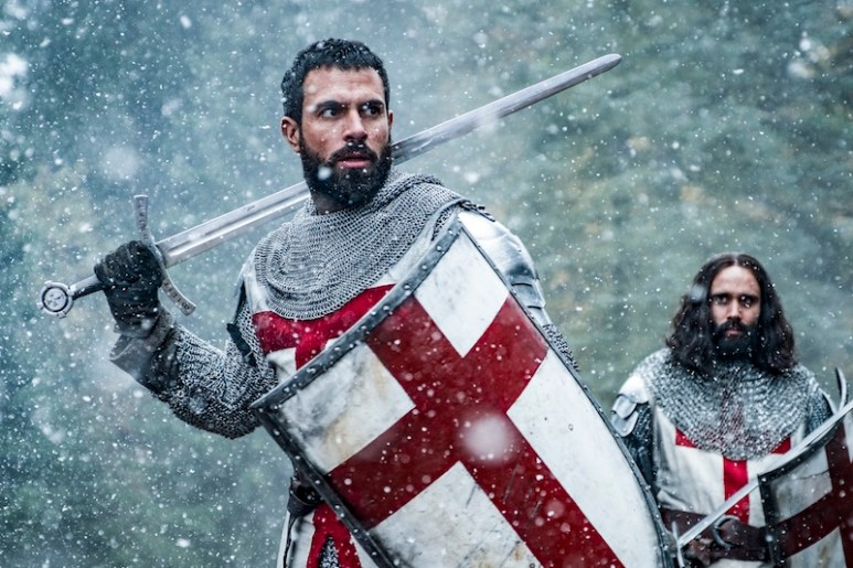 Tom Cullen as Landry du Lauzon in Knightfall