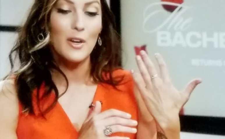 Becca Kufrin engagement ring