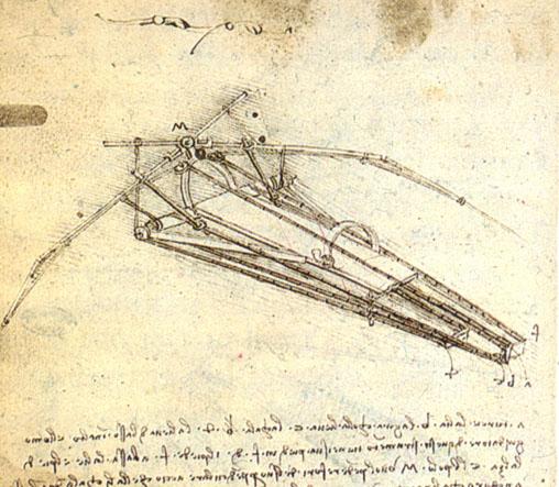 Flying machine da Vinci