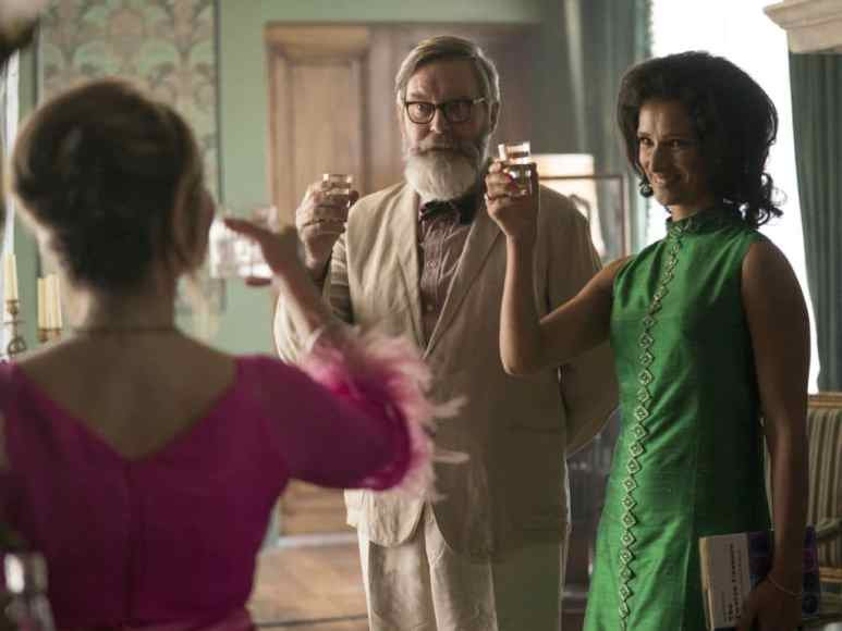 Jennifer Jason Leigh, James Fleet, Indira Varma