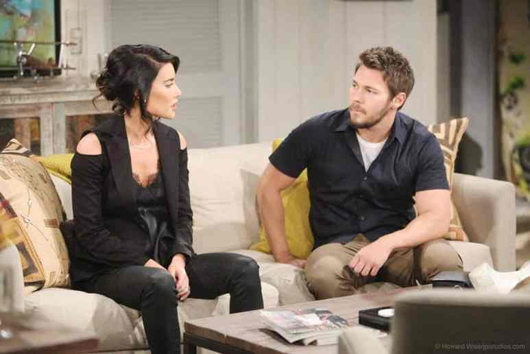 Steffy and Liam on The Bold and the Beautiful