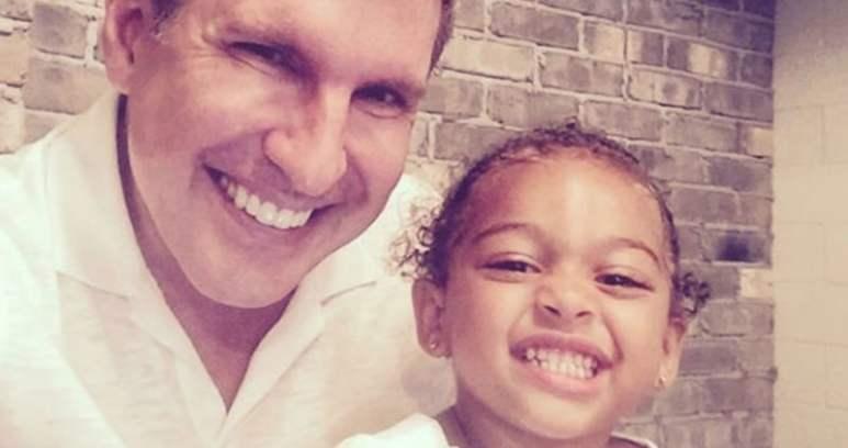 Todd Chrisley and his granddaughter Chloe
