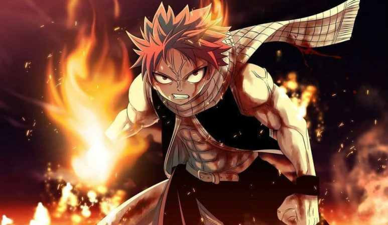 Natsu Dragneel in Fairy Tail