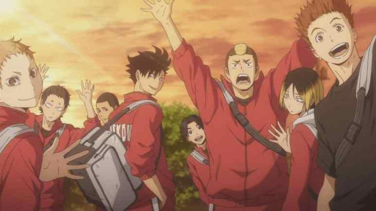 Haikyuu Nekoma High Volleyball Team