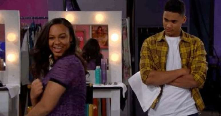 Emma and Xander on The Bold and the Beautiful
