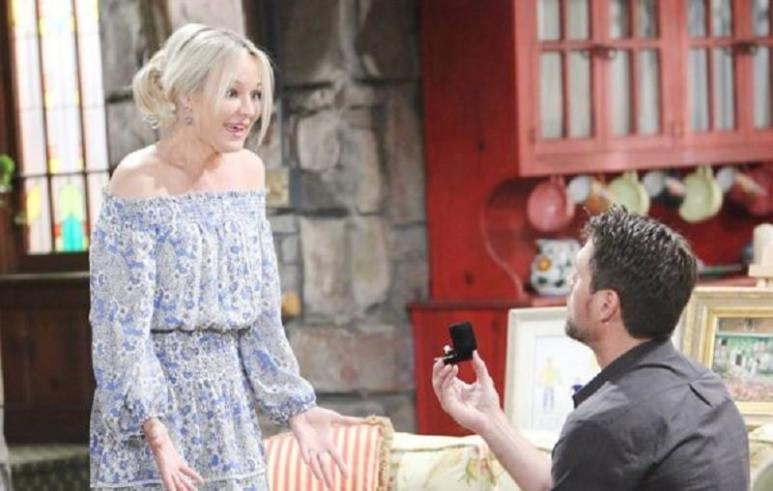 Nick and Sharon on The Young and the Restless