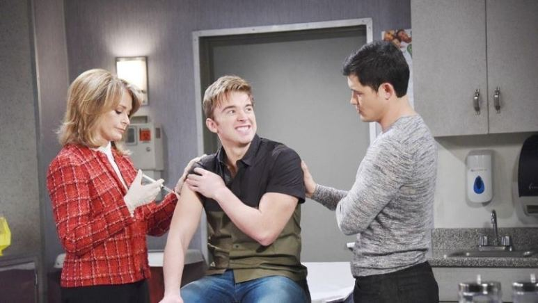 Paul, Will and Marlena