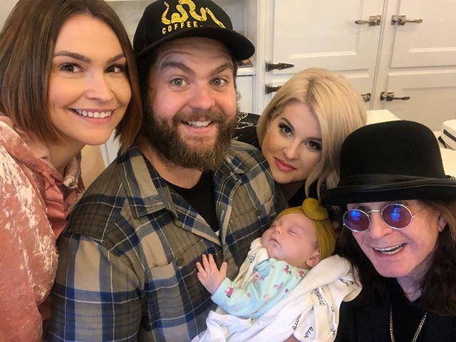 Lisa Osbourne, Jack Osbourne, Kelly Osbourne, Ozzy Osbourne, Minnie Osbourne