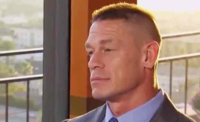 John Cena talking to Nikki Bella on Total Bellas