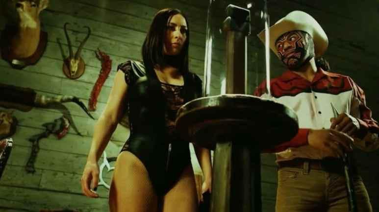 King Cuerno and Catrina on Lucha Underground