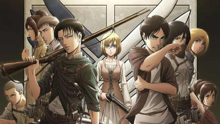 Characters from Attack On Titan