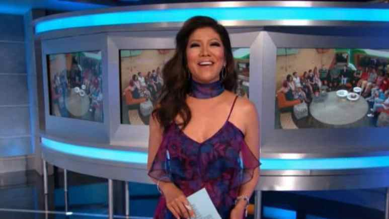 Julie Chen as host of Big Brother 20