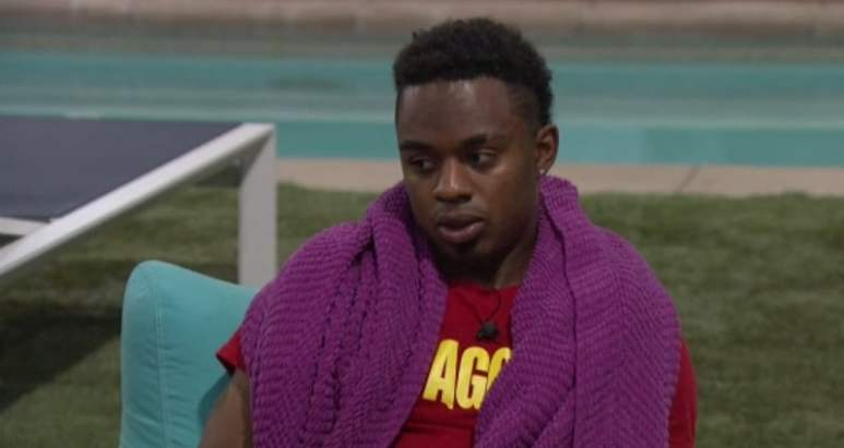 Swaggy C by the pool on Big Brother 20