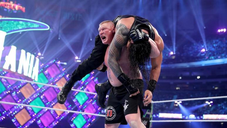 Brock Lesnar vs. Roman Reigns at WrestleMania