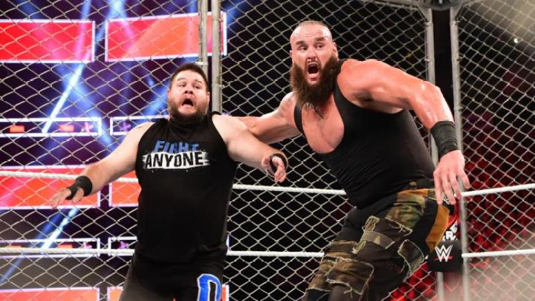 Braun Strowman vs. Kevin Owens at WWE Extreme Rules 2018