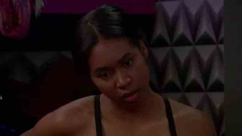 Bayleigh in the Big Brother house