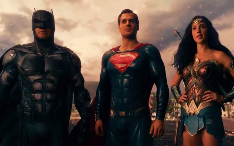 Superman, Batman, Wonder Woman, Justice League movie