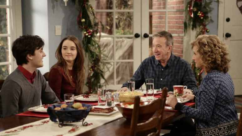 The Baxter family from Last Man Standing