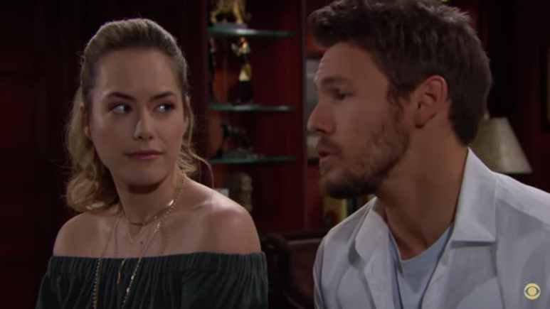 Liam proposes to Hope on The Bold and The Beautiful