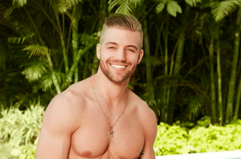 Nick Spetsas on Bachelor in Paradise
