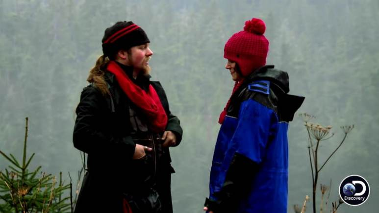 Noah Brown and Rhain Alisha on Alaskan Bush People