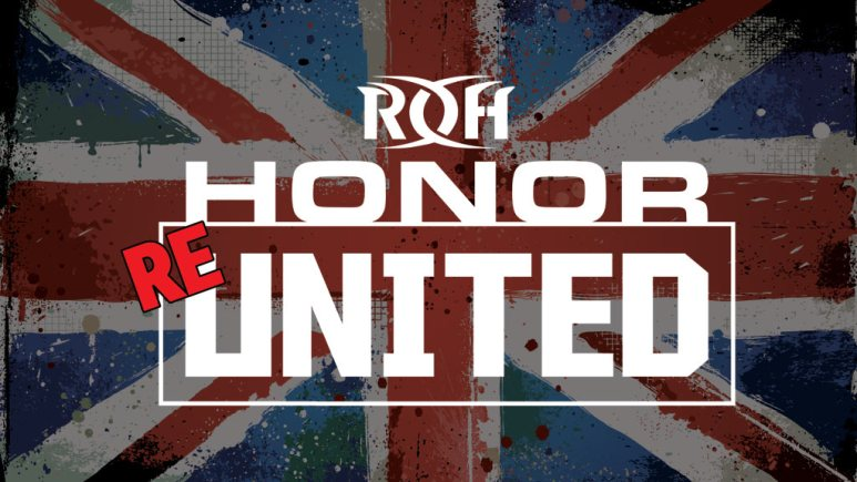 Ring of Honor coming to the UK with Re-United event in Edinburgh