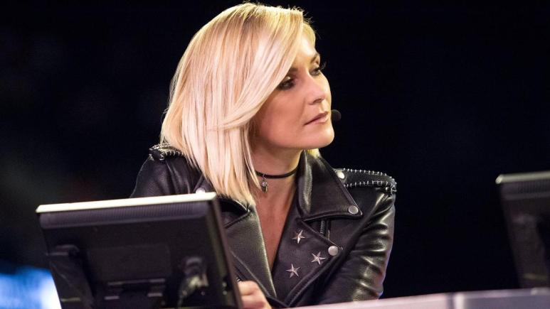 Renee Young reacts to her history making Monday Night Raw appearance