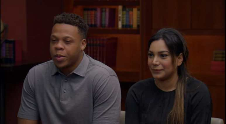 Tristan Thompson and Mia Bally on Married at First Sight