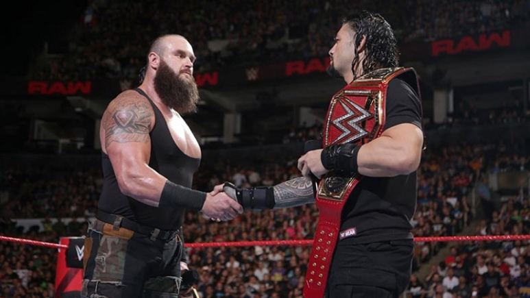 Braun and Roman agree to a match.