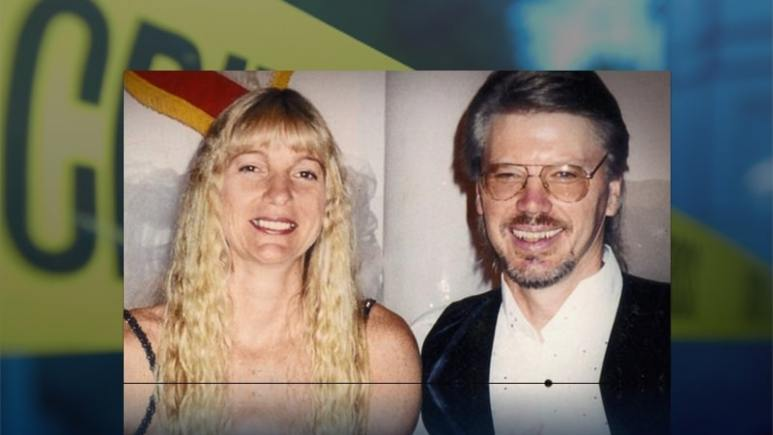 Jim Huden and his wife