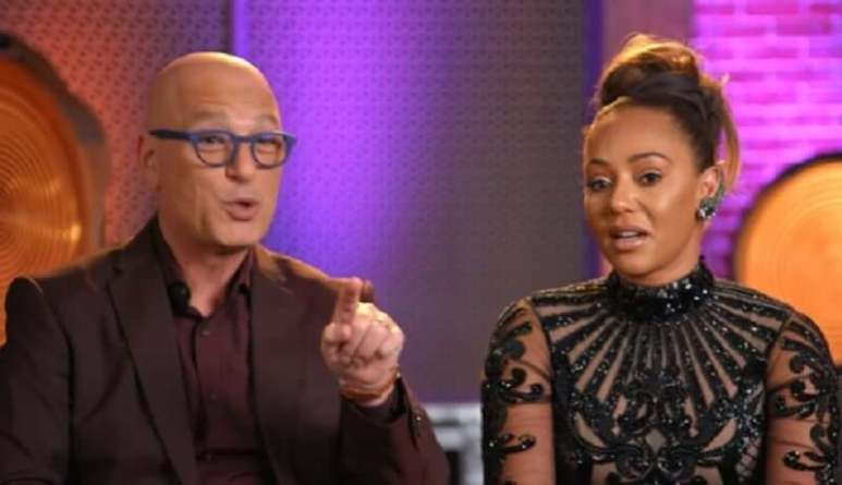 America's Got Talent judges Howie Mandel and Mel B