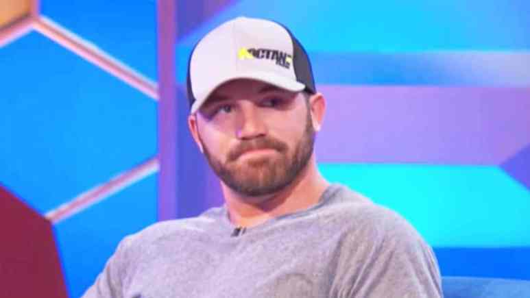 Adam Lind at the Teen Mom 2 reunion