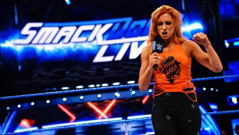 Becky Lynch promo on WWE SmackDown Live