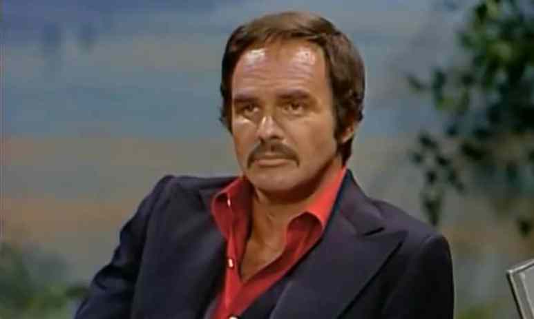 Burt Reynolds appeared on The Tonight Show with Johnny Carson in 1978