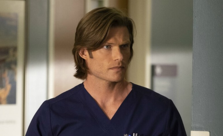 Dr. Link is the Ortho God on Grey's Anatomy