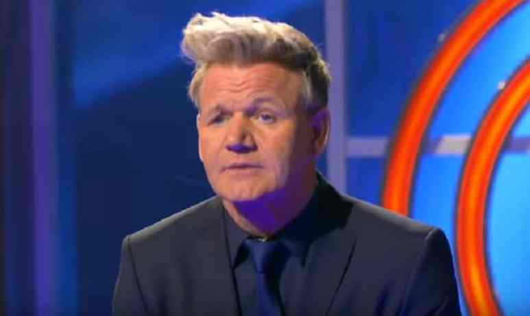 Gordon Ramsay during MasterChef season finale