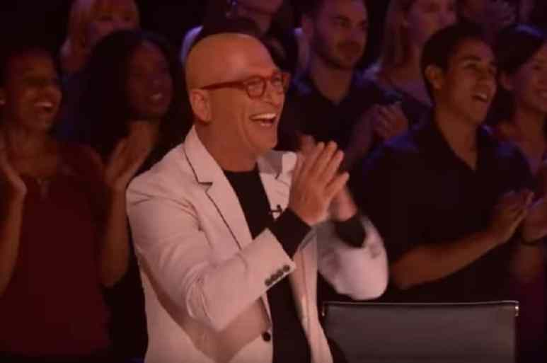 Howie Mandel during America's Got Talent 2018 episode