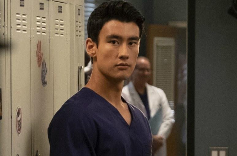 Alex Landi plays Niko Kim, a new surgeon on Grey's Anatomy