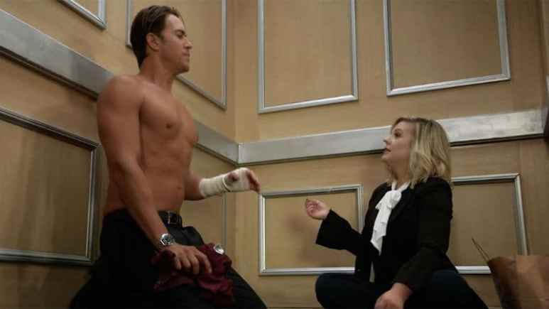 Wes Ramsey and Kirsten Storms as Peter and Maxie on General Hospital